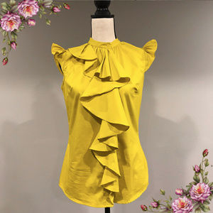 MAKE AN OFFER ;) Mustard button down top.